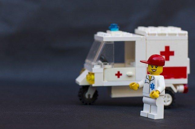 レゴの救急車