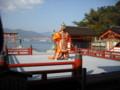厳島神社舞楽「蘭陵王」