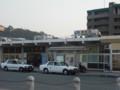 笠岡駅前のモニュメント