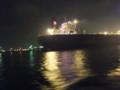水島コンビナートの夜景