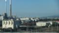 新幹線から徳山の工場群