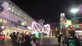 岡山駅のイルミネーション
