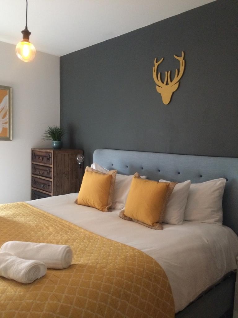 イギリスエディンバラ のエアビー ベッドルーム1