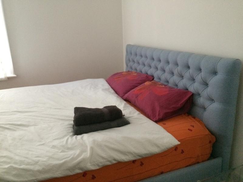 イギリスロンドンのエアビー ベッドルーム1