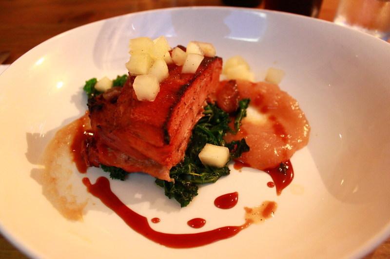 イギリスエディンバラのレストランBia Bistrot メイン(肉)