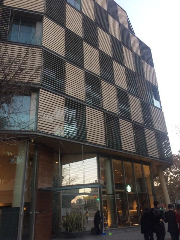 スペインバルセロナB Hotel外観
