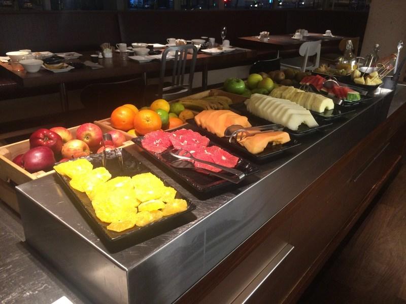 スペインバルセロナB Hotel朝食2
