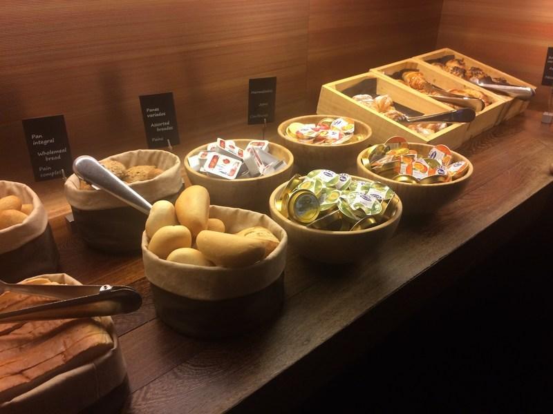 スペインバルセロナB Hotel朝食1