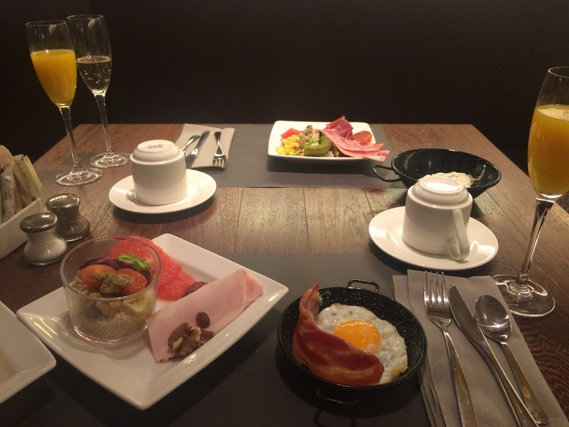 スペインバルセロナB Hotel朝食3
