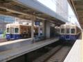 阪神5001形と阪神5131形 阪神本線普通車両交換