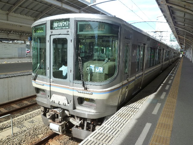JR223系5000番代 JR予讃線快速マリンライナー