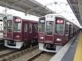 阪急9300系と阪急9300系