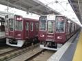 阪急9300系と阪急8300系