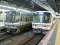 JR223系2000番代とJR221系