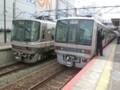 JR223系6000番代とJR207系