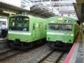JR201系とJR103系