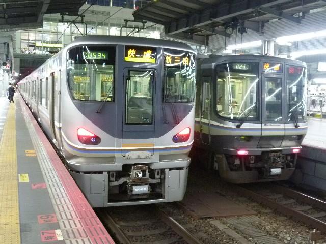 JR225系6000番代とJR223系1000番代