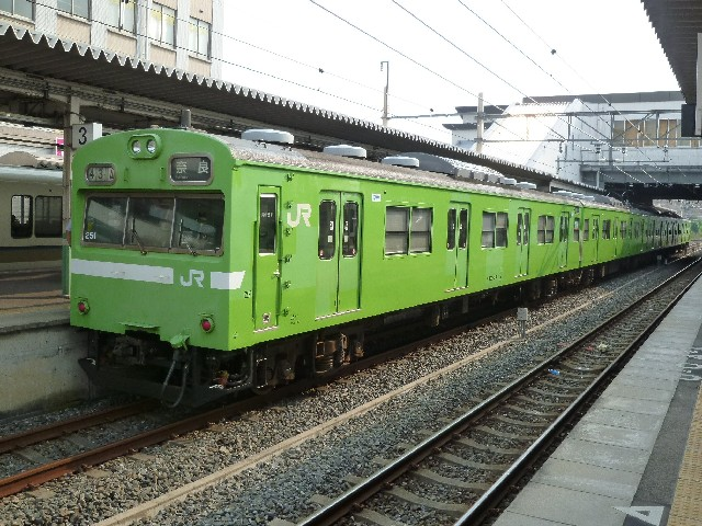 JR103系 JR奈良線普通