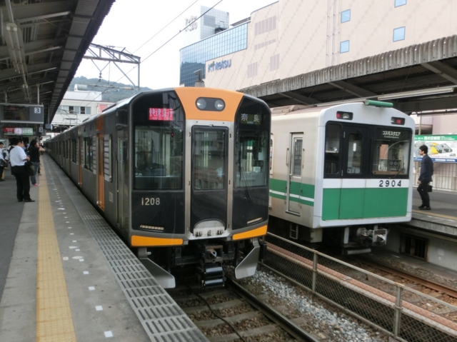 阪神1000系と大阪市交通局20系