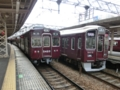 阪急5300系 阪急京都線準急と阪急9300系 阪急京都線特急