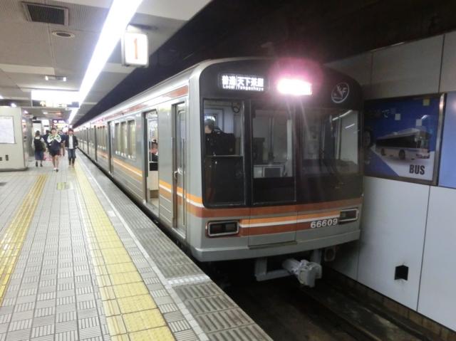 大阪市交通局66系 地下鉄堺筋線普通