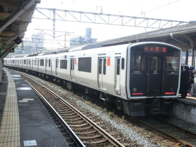 JR817系 JR鹿児島本線快速