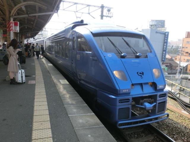 JR883系 JR鹿児島本線特急ソニック