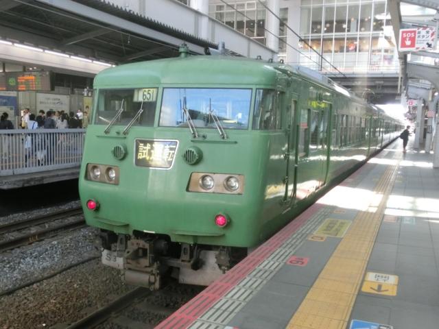 JR117系 試運転