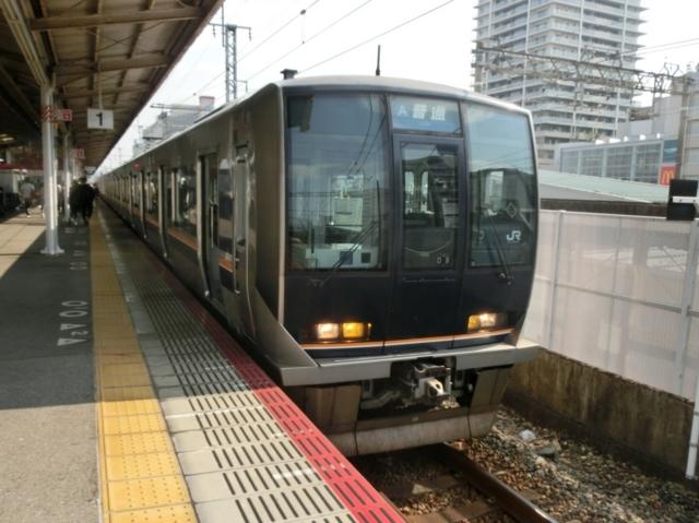 JR321系 JR山陽本線普通