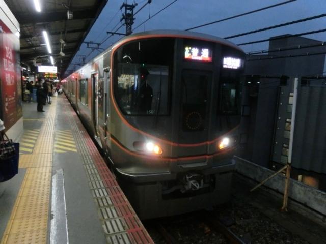 JR323系 JR大阪環状線普通