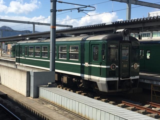 京都丹後鉄道MF100形 回送