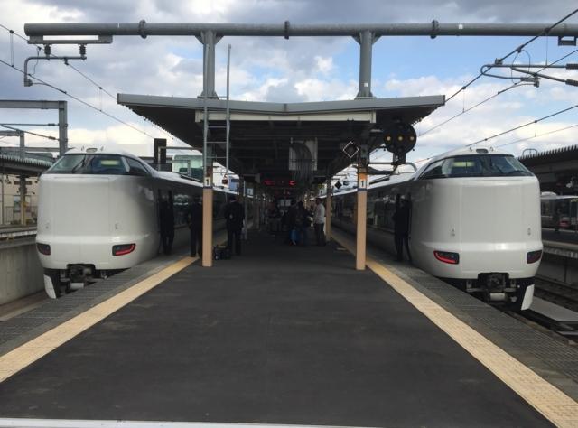 JR287系とJR287系