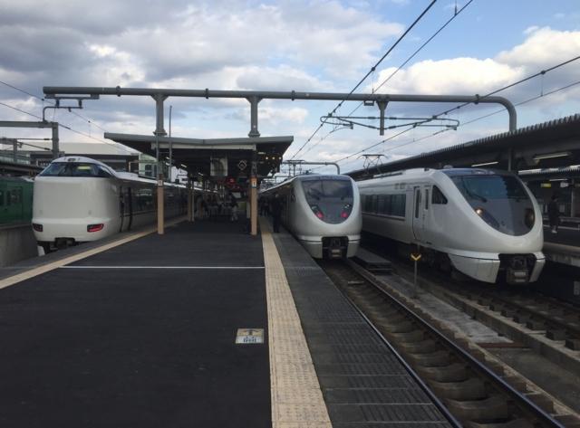 JR287系とJR289系とJR289系