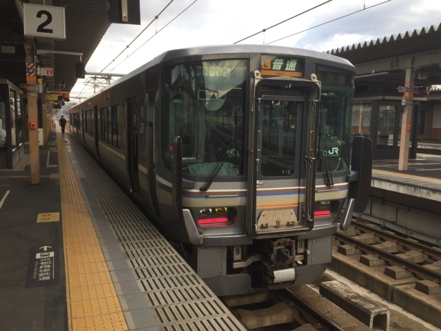 JR223系5500番代 JR山陰本線(舞鶴線)普通
