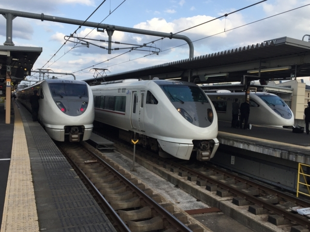 JR289系とJR289系とJR289系