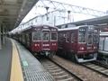 阪急3300系と阪急8300系