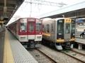 近鉄1020系と阪神9000系