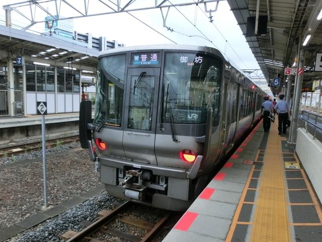 JR223系0番代 JR紀勢本線普通