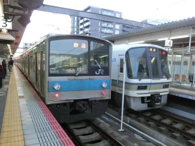 JR205系1000番代とJR221系
