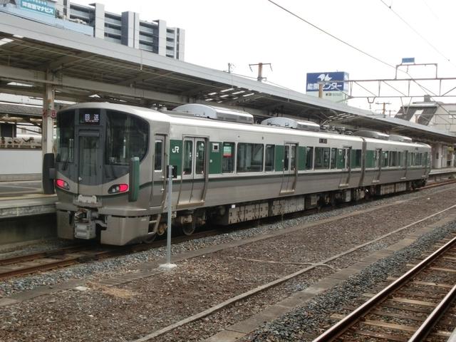 JR227系1000番代 回送