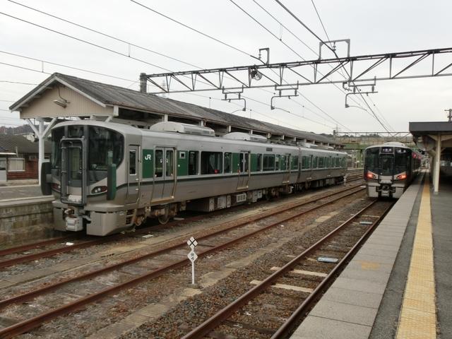 JR227系1000番代 留置