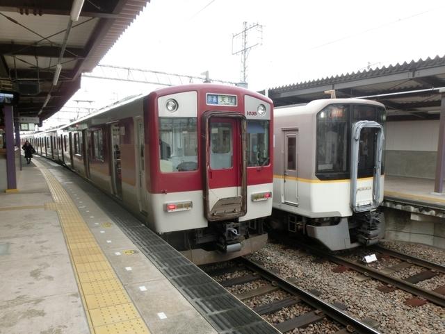 近鉄1020系と近鉄5820系
