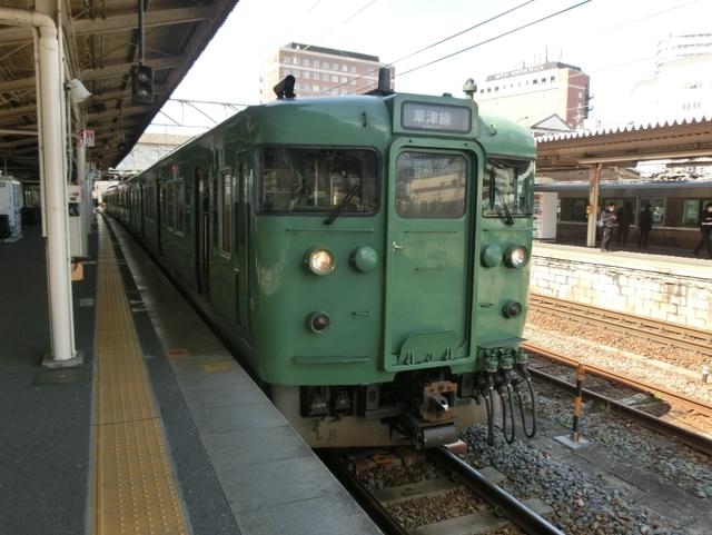 JR113系 JR草津線普通