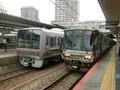 JR207系とJR223系2000番代