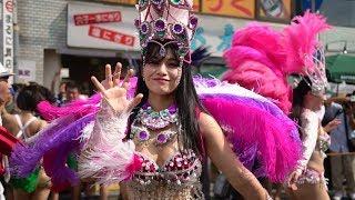 ウニアン サンバ 紫 可愛い ダンサー