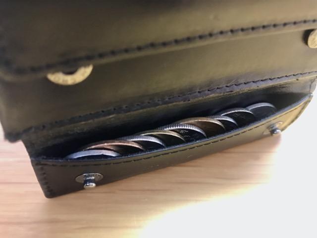 薄い財布 Abrasus 小銭入れ 便利