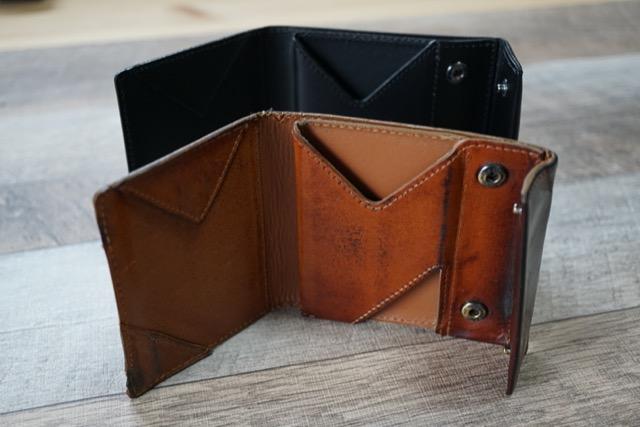 abrAsus 薄い財布 ブッテーロレザー ブラック ブラウン アブラサス 比較