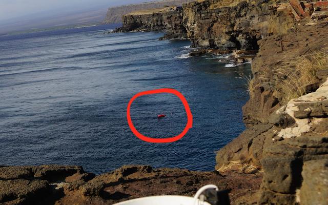 ハワイ島 サウスポイント 飛び込み 南端 世界の果て