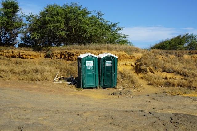 サウスポイント ハワイ島 トイレ 飛び込み