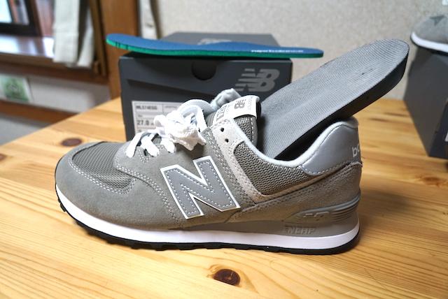 ニューバランス 比較 574 996 値段 CM ML デザイン 違い  価格 スニーカー BG EGG 靴 グレー
